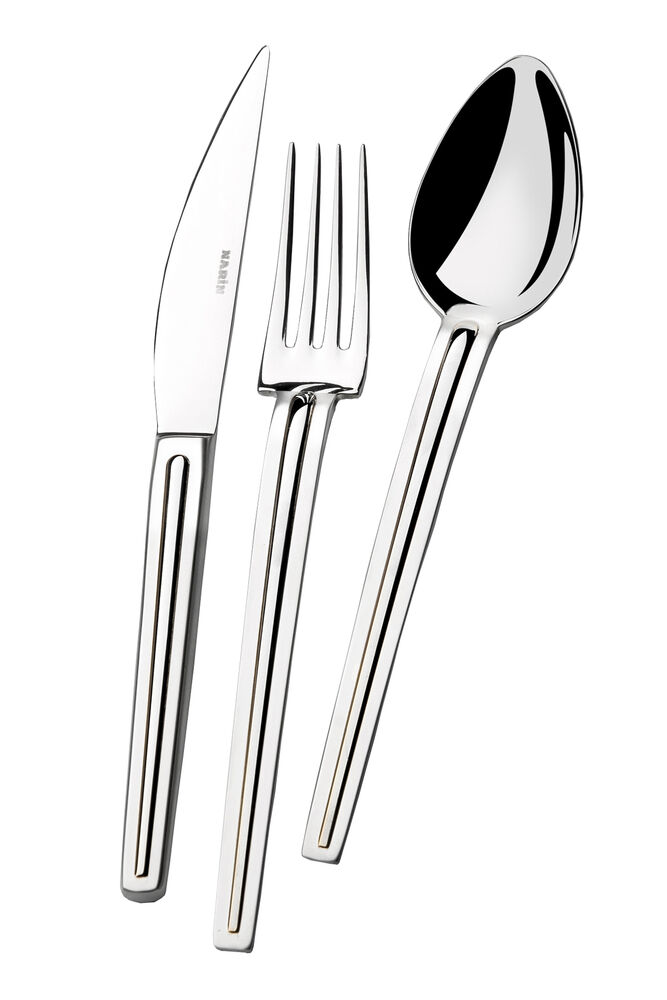 - Elegante Serisi - Sade - Yemek Bıçak ( 6 Adet )