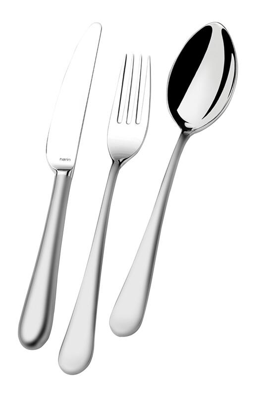 - Epsilon Serisi - Mat - Tatlı Bıçak ( 6 Adet )