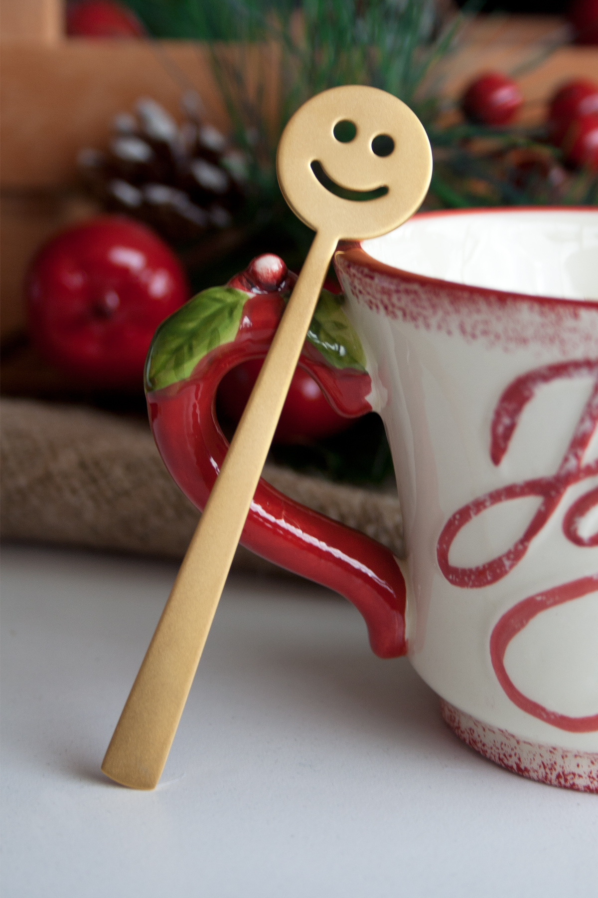 Gülen Çay Kaşık