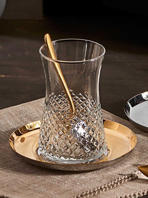 Narin - Kristal Çay Bardak ( 6'lı )