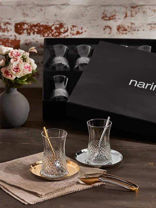 Narin - Kristal Desenli Halley Çay Keyfi - 19 Parça