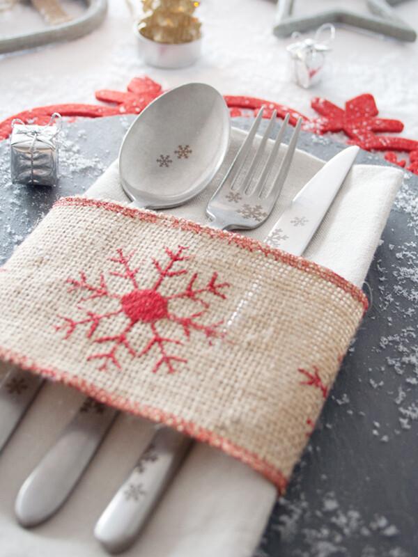 - Pladies - Kar Tanesi - Yemek Çatal ( 6 Adet )