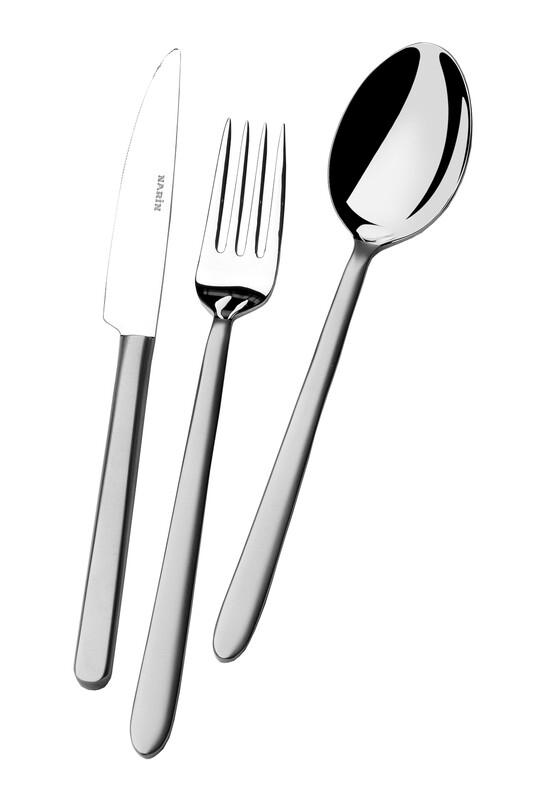 - Pladies Serisi - Mat - Yemek Çatal ( 6 Adet )