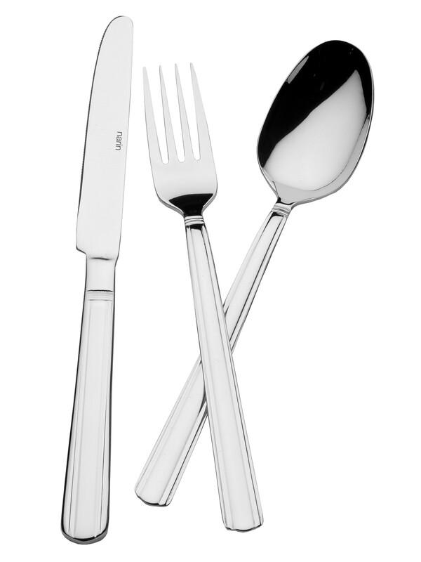 - Poyraz Serisi - Sade - Tatlı Bıçak ( 6 Adet )