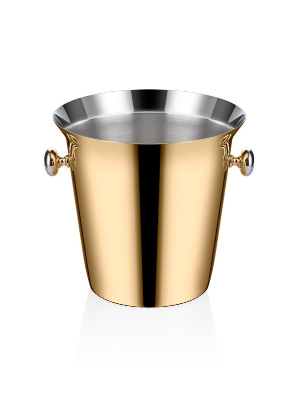Şarap Kovası - Titanyum Gold