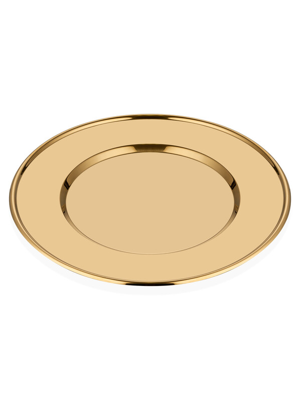 - Supla Tabağı - Parlak Gold Titanyum